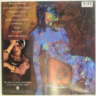 Toni Childs / Union LP back