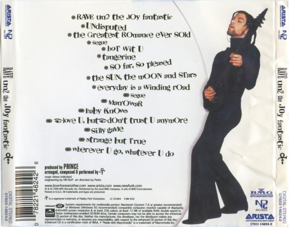 1999 - Rave Un2 The Joy Fantastic 2