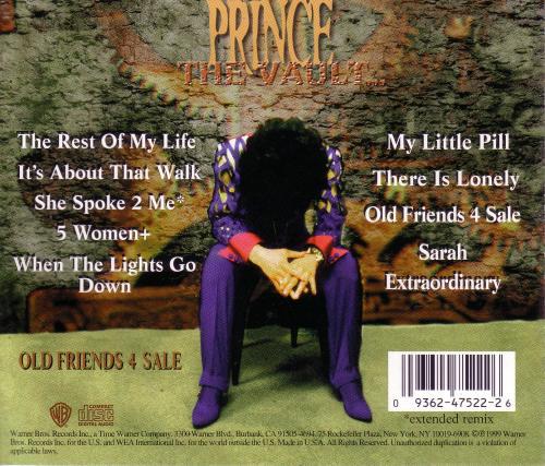 1999 - The Vault - Old Friends 4 Sale 3
