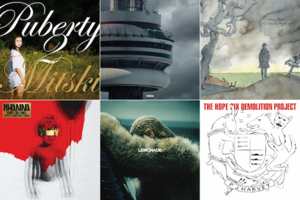best-albums-2016-beyonce-mitski-drake-pj-harvey-rihanna-compressed