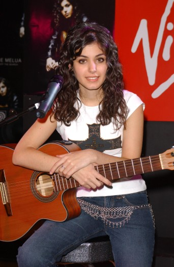 Katie Melua Signs Copies of 'Call Of The Search'
