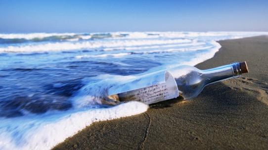sea-beach-drift-bottle-1080p-wallpaper